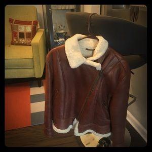 Jackets & Blazers - Canadian faux  fur- sheepskin coat